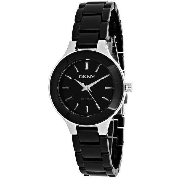DKNY Women's Steel and Ceramic Watch