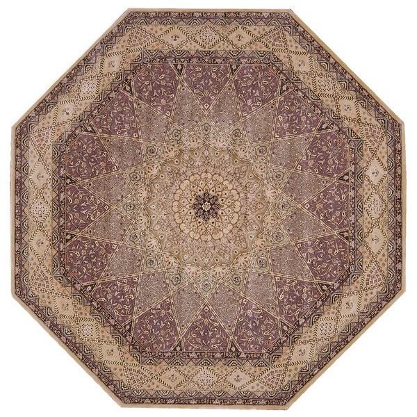 Hand-tufted Nourison 2000 Star Lavender Rug