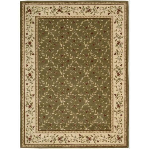 Ashton House Olive Wool Rug