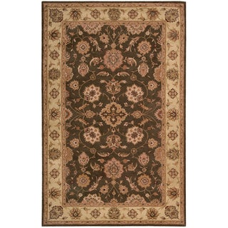 Hand-tufted Heritage Hall Sable Wool Rug