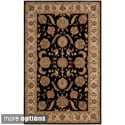 Hand-tufted Heritage Hall Beige Wool Rug