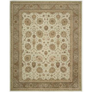 Hand-tufted Heritage Hall Pastel Blue Wool Rug