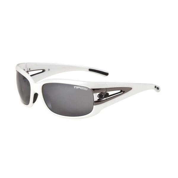Tifosi Glasses Lust Pearl White Smoke Lens