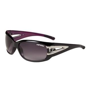 Tifosi Glasses Lust Gloss Black Pink Smoke Gradient Lens