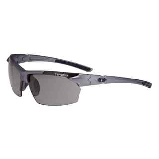 Tifosi Glasses Jet Gunmetal with Smoke Polarized Fototec Lens