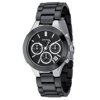 DKNY Women's Ceramic Chronograph Watch