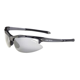 Tifosi Pave Midnight Blue Sunglasses with Light Night Fototec Lens