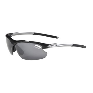 Tifosi Glasses Tyrant Matte Black Polarized Sunglasses