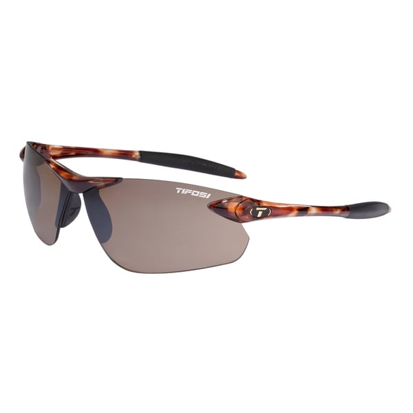 Tifosi Seek FC Tortoise Sunglasses with Brown Lens
