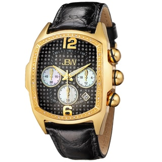 JBW Men's Gold-Tone Steel 'Caesar' Diamond Watch