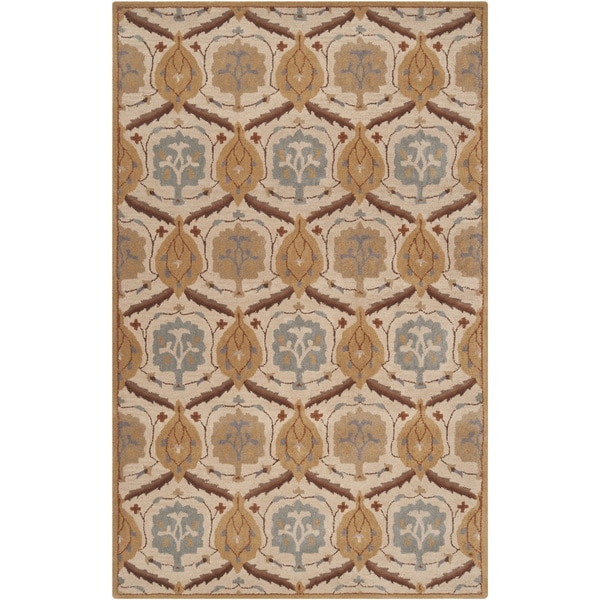 Hand-tufted Lunas Wool Rug