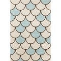 Allie Handmade Abstarct Wool Rug (5' x 7'6)