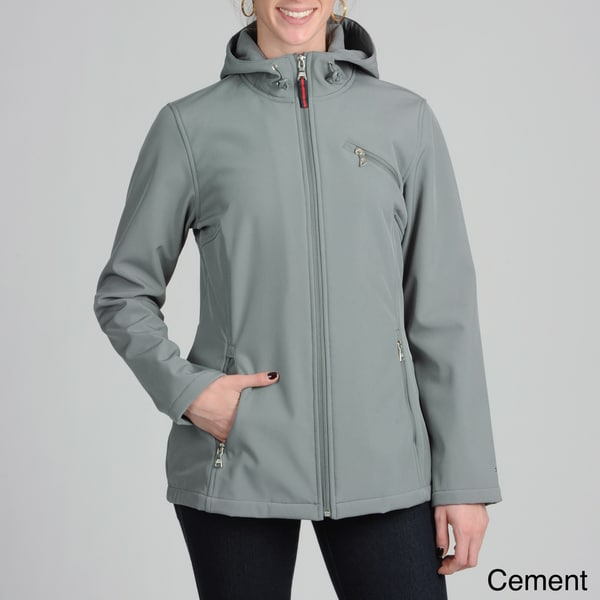 Tommy Hilfiger Women's Hooded Soft Shell Jacket