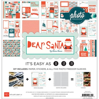 Photo Freedom Dear Santa Collection Kit 12