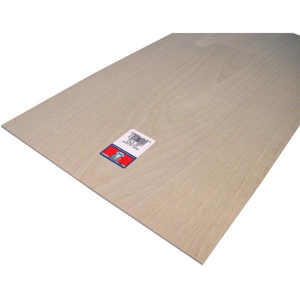 "Craft Plywood-12""X24""X1/8"""