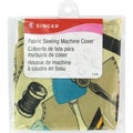 "Fabric Sewing Machine Cover-15-1/2""X10-1/2""X6"""
