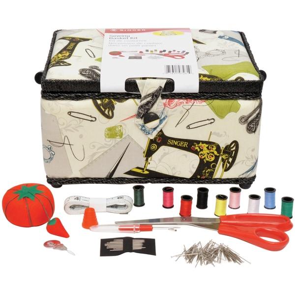 """Sewing Basket Kit-5-1/52""""X10-1/2""""X5-1/2"""""""