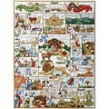 "Oh Holy Night Counted Cross Stitch Kit-16""X21"" 14 Count"