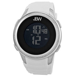 JBW Men's Stainless Steel Digital Diamond Watch