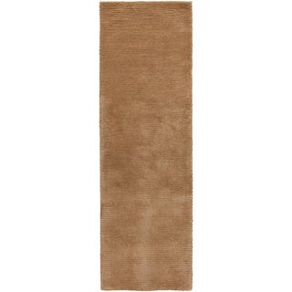 Hand-woven Sutherlin Plush Shag New Zealand Wool Rug