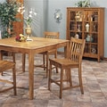 Intercon Cambridge Solid Oak Slat Back Rustic 30-inch Barstool (Set of 2)
