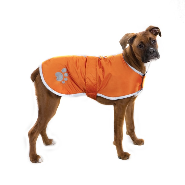 Zack & Zoey Nor'easter Orange Blanket Coat in XX-Large (As Is Item)