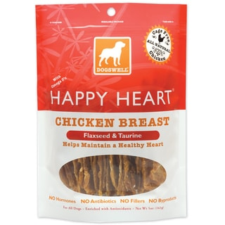 Dogswell Happy Heart Chicken Jerky (5 ounces)