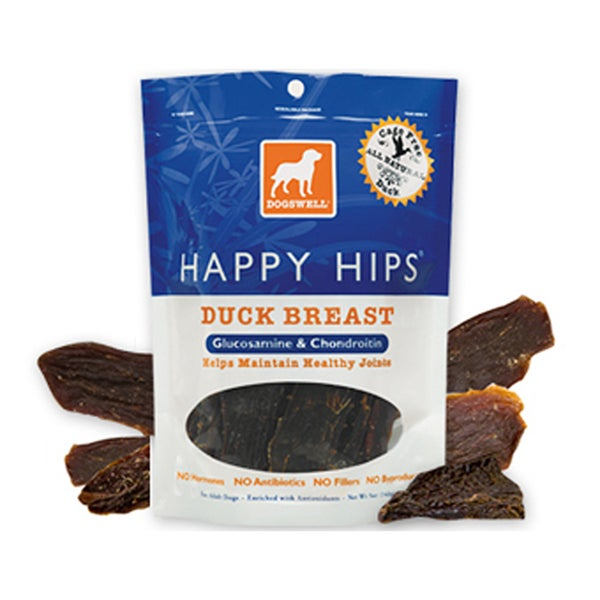 Dogswell Happy Hips Duck Flavored Jerky (5 ounces)