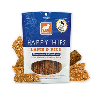 Dogswell Happy Hips Lamb and Rice Jerky (5 ounces)