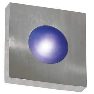 Dalya 1-light Chrome Wall Sconce/ Flush Mount