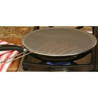 Cast Iron 12-inch Fry Pan with Splatter Screen