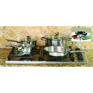 ExcelSteel Cookware with Tools Set