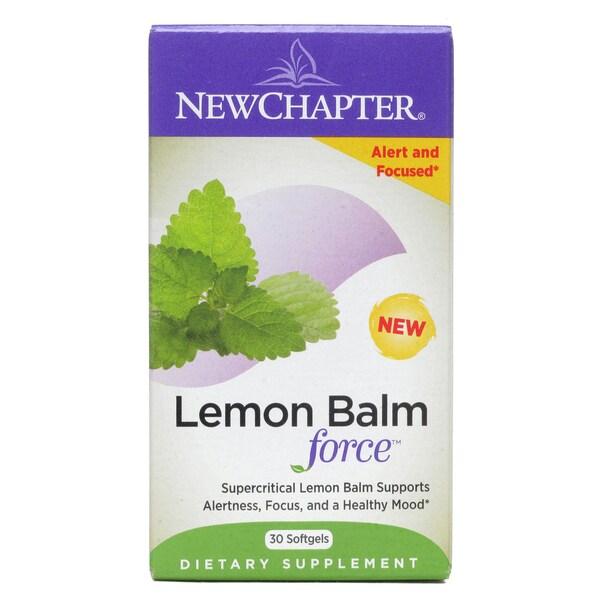 New Chapter Lemon Balm Force (30 Softgels)