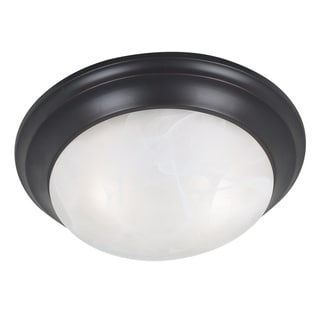 Walton 2-light Bronze Flush Mount