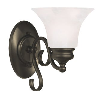 Padula 9-inch Black 1-light Wall Sconce