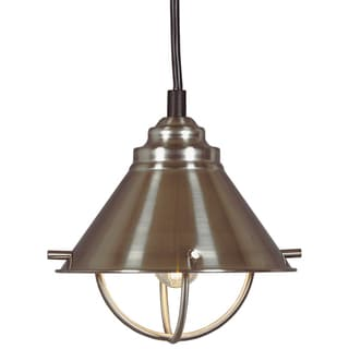 Olinda 1-light Steel Mini Pendant