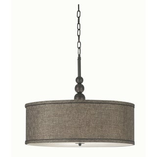 Stewart 3-light Bronze Pendant