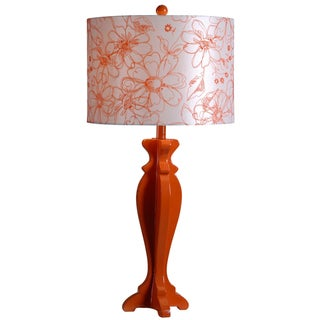 Wayland Floral Shade Modern Table Lamp