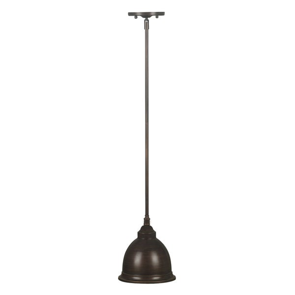 Abiona 1-light Bronze Mini Pendant