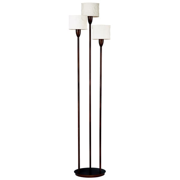 gorham torchiere 3 light floor lamp 15006617 overstock With gorham torchiere 3 light floor lamp