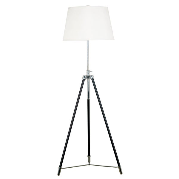 Ella Tripod Syle Adjustable-Height With Bronze Finish Floor Lamp