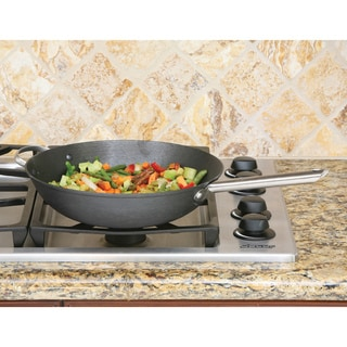 13-inch Chinese Wok with Splatter Screen