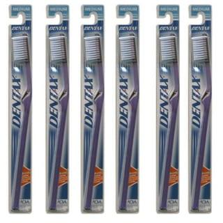 Dentax Medium Full Head Toothbrush (Pack of 6)