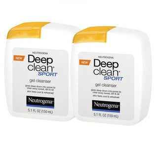 Neutrogena Deep Clean Sport Face Cleanser (Pack of 2)