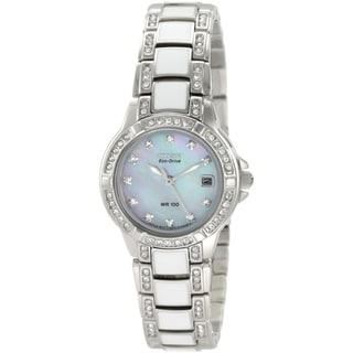 Citizen Women's Steel Eco-Drive 'Normandie' Watch