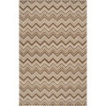 Hand-tufted Eksjo Bronze Wool Rug (8' x 11')