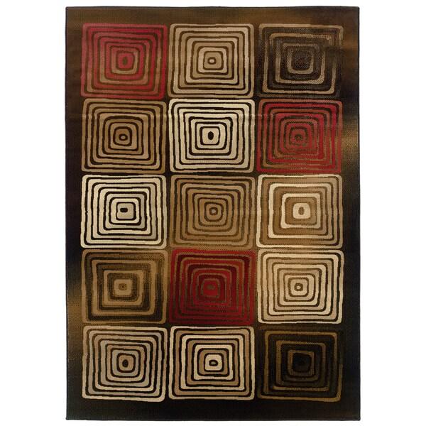 Somette Western Elegance Mezmo Tranquil Area Rug (7'10 x 11'2)