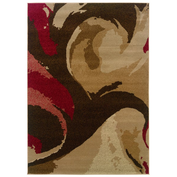 Somette Western Elegance Reflections Fall Area Rug (5'3 x 7'6)