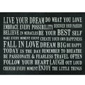 Live Your Dream Cushion Mat (22 x 30)