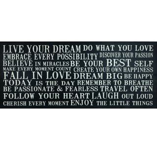 Live Your Dream Cushion Mat (22 x 52)